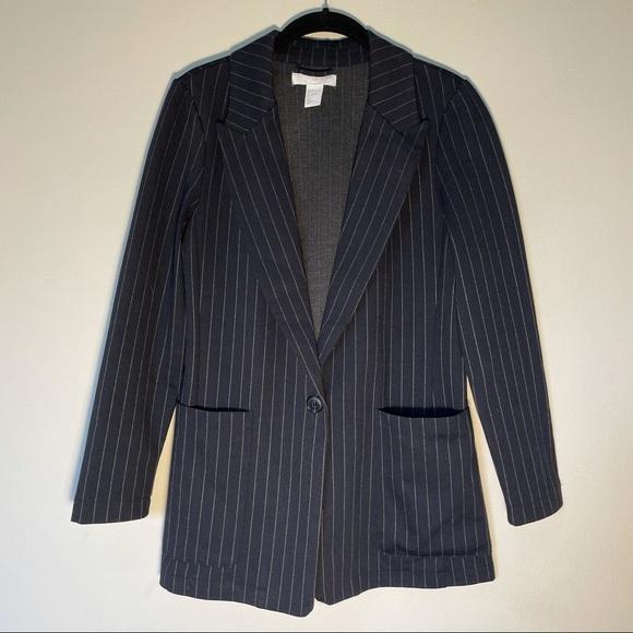 Pinstripe H&M blazer